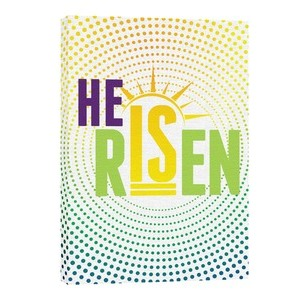 He Is Risen Dots 24in x 36in Canvas Prints