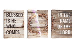 Blessed Is He 24in x 36in Canvas Prints