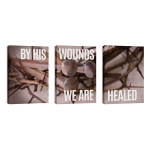 By His Wounds Wall Art