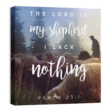 Photo Scriptures Psalm 23:1 Wall Art