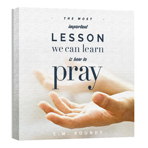 Important Lesson 24 x 24 Canvas Prints