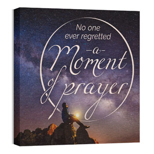 Moment of Prayer Wall Art