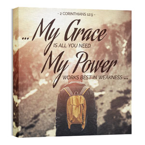 My Grace My Power 24 x 24 Canvas Prints