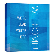 Modern Mosaic Welcome Wall Art