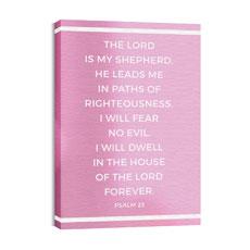 Shimmer Psalm 23 Wall Art