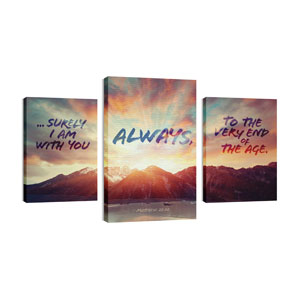 Always 30in x 50in Canvas Prints