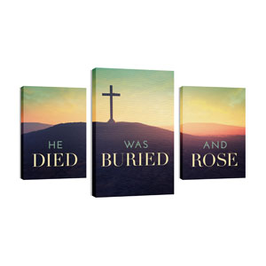 Died Buried Rose Wall Art