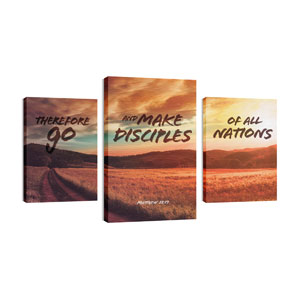 Make Disciples 30in x 50in Canvas Prints
