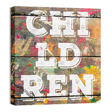 Mod Children 1 Wall Art