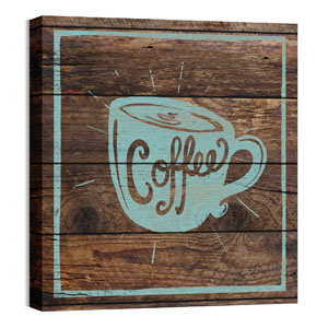 Mod Coffee 1 24 x 24 Canvas Prints