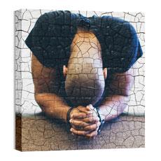 Mod Person Praying Wall Art