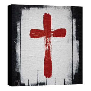 Mod Cross 1 24 x 24 Canvas Prints