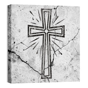 Mod Cross 3 24 x 24 Canvas Prints