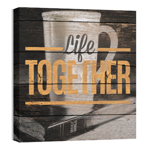 Mod Life Together 24 x 24 Canvas Prints