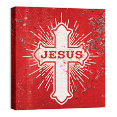 Mod Jesus Cross Wall Art