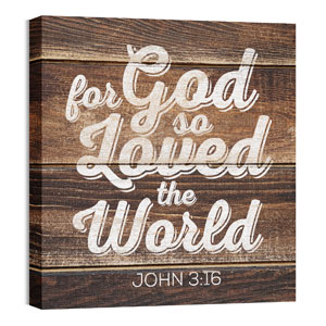Mod John 3 16 24 x 24 Canvas Prints