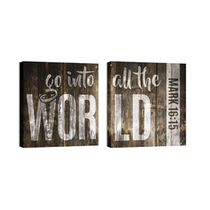 Mod All The World 24 x 24 Canvas Prints