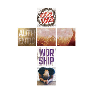 Mod Worship Cross Set Wall Art