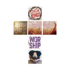 Mod Worship Cross Set Wall Art