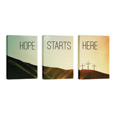 Hope Starts Here Calvary Wall Art