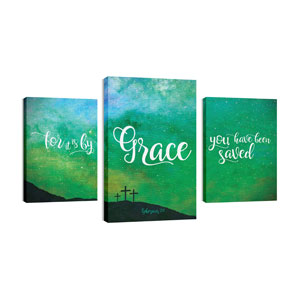 Grace Green 30in x 50in Canvas Prints