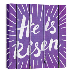 Mod He is Risen Burst 24 x 24 Canvas Prints