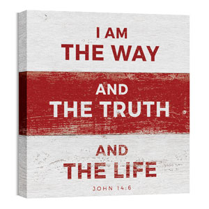 Mod Way Truth Life Wall Art