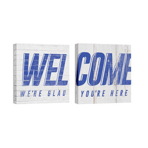 Mod Welcome Pair 2 Wall Art