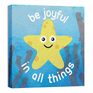 Ocean Buddies Starfish 24 x 24 Canvas Prints