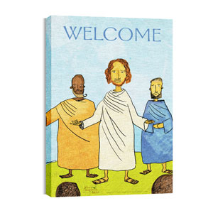Jesus Storybook Bible Wall Art