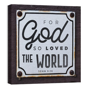 Mod John 316 Sign 24 x 24 Canvas Prints