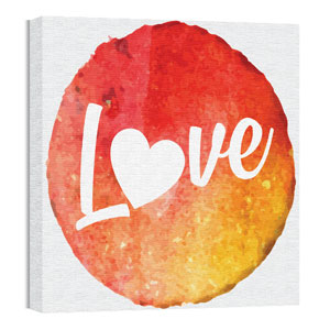 Mod Love 2 24 x 24 Canvas Prints