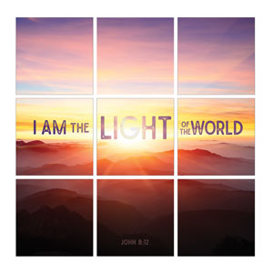 Mod Light of the World Set 24 x 24 Canvas Prints