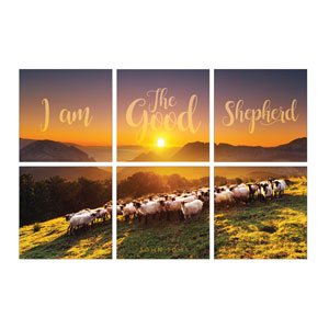 Mod Good Shepherd 24 x 24 Canvas Prints