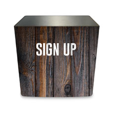 Dark Wood Sign Up