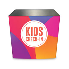 Curved Colors Kids Check-In