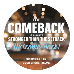 The Comeback Circle InviteCards