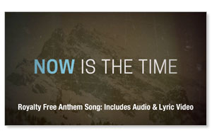 Now Is The Time Anthem Song Audio Downloads