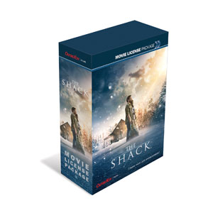 The Shack Movie Movie License Packages