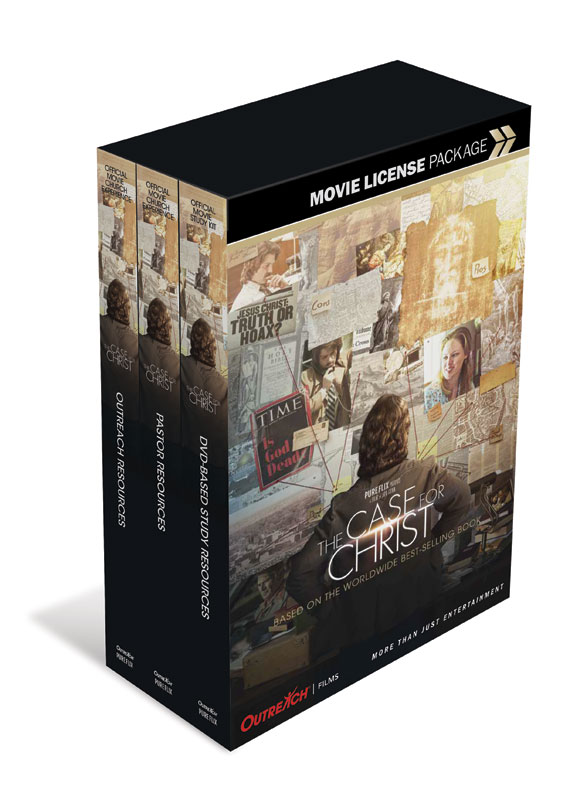 Movie License Packages, Case for Christ, The Case for Christ Movie Event Pkg Standard, 100 - 1,000 people  (Standard)