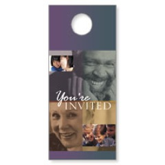Everyones Invited Door Hanger