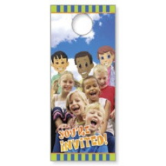 Children's Invited Door Hangers