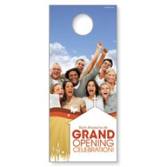 Grand Opening People Door Hanger