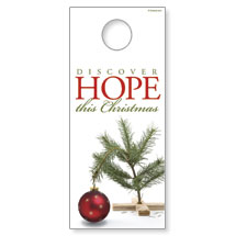 Hope Christmas Tree Door Hanger
