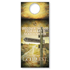 GodQuest Door Hanger