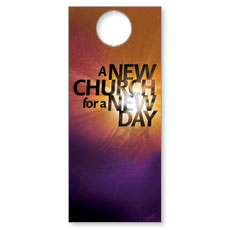 New Church Door Hanger