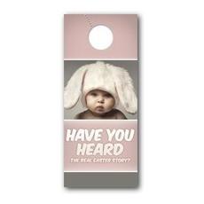 Baby Bunny Ears Door Hanger
