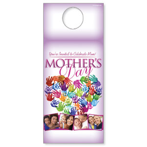 Mothers Heart DoorHangers