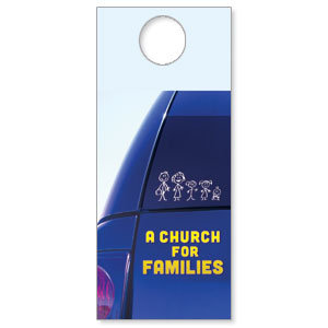 Church for Families DoorHangers