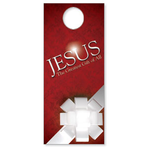 Jesus Greatest Gift Door Hangers